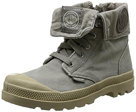 Palladium Baggy Zipper K, Boots mixte enfant - Gris (Concrete/Putty), 33 EU