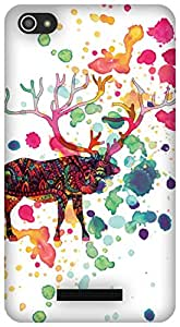 The Racoon Grip When The Rain Came hard plastic printed back case / cover for Micromax Canvas Hue 2 A316