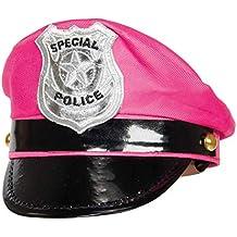 3665bbce5b8e9 Folat Gorra con Escudo Tiara de policía (Talla única)