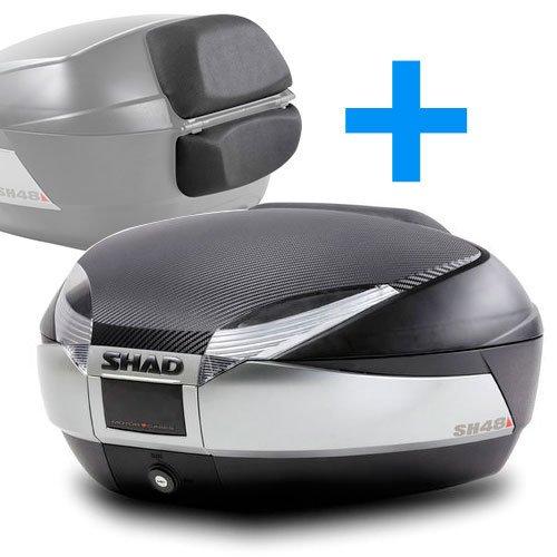 SHAD : Baul maleta moto scooter SH48 REGALOS: Tapa