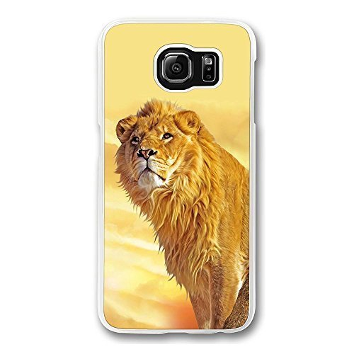 samsung-s6-case-galaxy-s6-case-screatch-resistant-crystal-clear-hard-case-for-samsung-galaxy-s6-lion