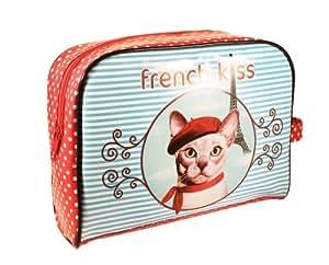 Trousse de voyage - Trousse de toilette Chat French Kiss