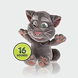 BG Games Talking Tom - Juguete (254 mm, Plush, Gris)