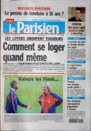 PARISIEN (LE) [No 18660] du 08/09/2004 - SECURITE ROUTIERE -