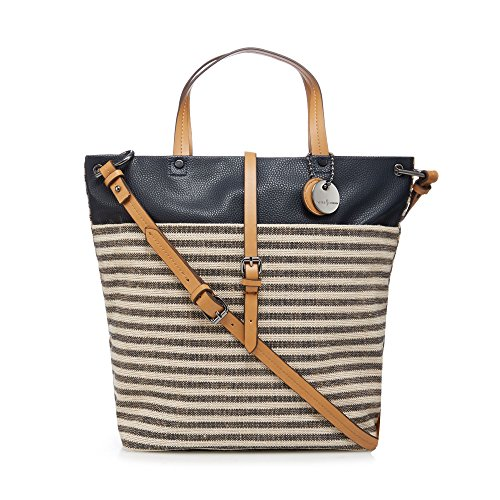 j-by-jasper-conran-womens-navy-stripe-shopper-bag