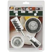 Bosch 2609256553 DIY Drahtbürsten-Set 4 -teilig