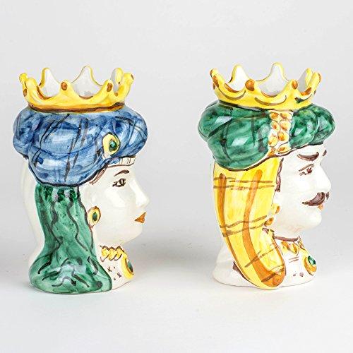 Zoom IMG-1 ceramiche azzaro romano caltagirone teste