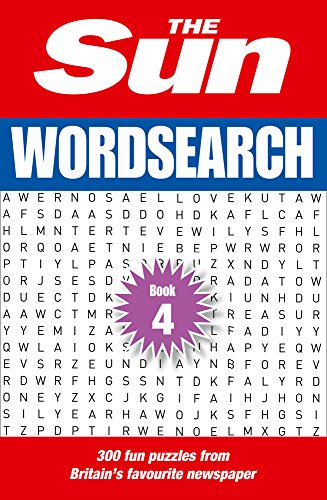 The Sun Wordsearch Book 4: 300 Fun Puzzles from Britain's Favourite Newspaper