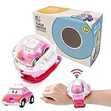 Ferngesteuertes Mini auto Spielzeug für kinder Mini Uhren Gravity Detector RC Auto Spielzeug - einstellbare Armbanduhr wiederaufladbare und langlebig