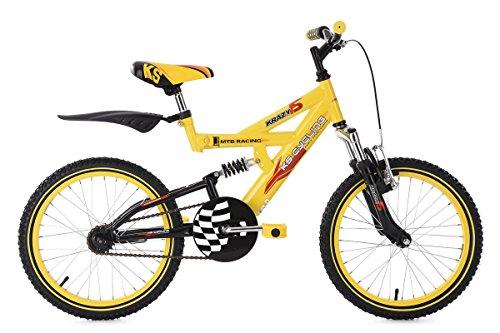 KS Cycling Kinder-Mountainbike 18\'\' Krazy gelb RH32cm