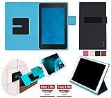 reboon Hülle für Dell Venue 7 Tasche Cover Case Bumper | in Schwarz | Testsieger