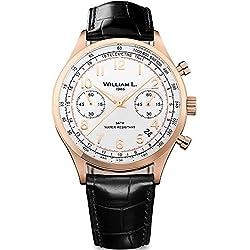 Reloj William L. para para Hombre WLOR01BCORCN