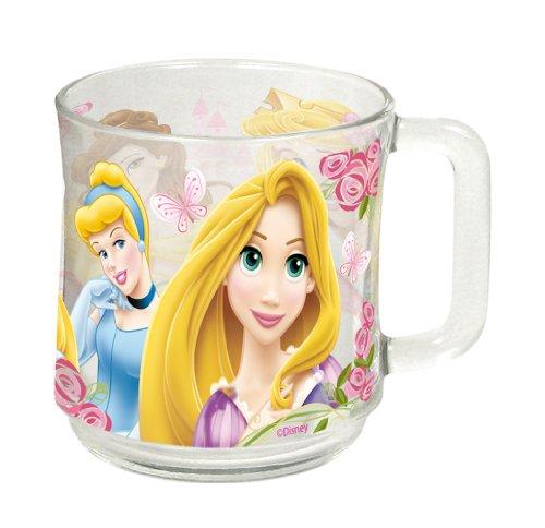 Arditex WD7407 Taza de cristal en caja de regalo, Diseño Princesas Disney