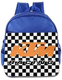 Boys Girls Toddler KTM Racing Logo Backpack School Bag