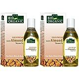 Indus Valley Bio Organic Almond Oil Set Of 2, 200Ml