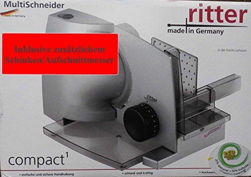 ritter Allesschneider mit ECO-Motor Multischneider Ritter Copact1 Duo Plus