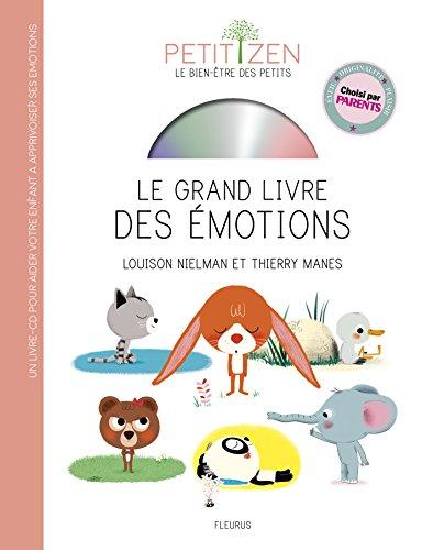Le grand livre des émotions (1CD audio)