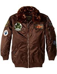 Alpha Industries Big Boys' Maverick Flight Jacket
