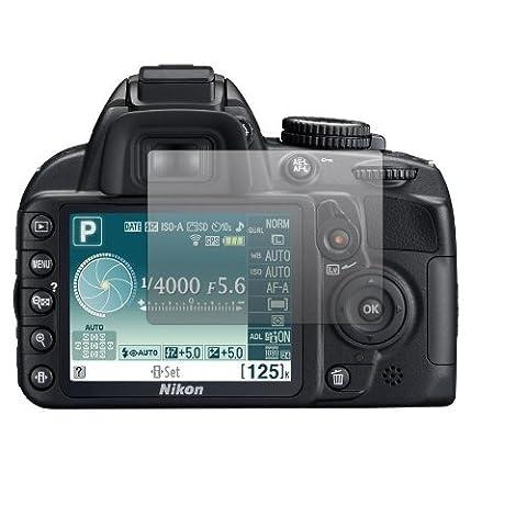 2 x Slabo Displayschutzfolie Nikon D 3100 Displayschutz Schutzfolie Folie Crystal Clear unsichtbar Nikon D3100 D-3100 3100 MADE IN