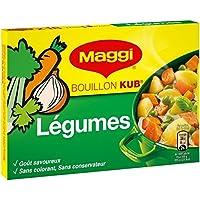 Maggi Bouillon Kub légumes La boite de 18 cubes, 180g - Prix Unitaire - Livraison Gratuit Sous 3 Jours