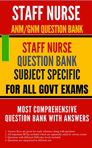 STAFF NURSE PREVIOUS YEAR QUESTIONS (SUBJECT SPECIFIC) FOR ALL