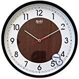 #9: Ajanta 12 inches Wall Clock for Home/Offices/Bedroom/Living Room/Kitchen (Silent Movement, 2)