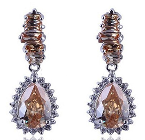 saysure-10kt-white-yellow-gold-filled-earrings-sapphire-dangle-drop
