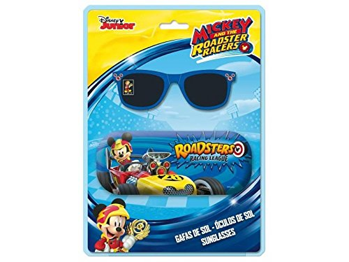 Mickey Mouse Sonnenbrille und Tasche, mehrfarbig, Einzige (astroeuropa ast7634)