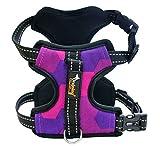 FUBULECY Hundegeschirr Kein Pull Dog Harness Front Range Hundegeschirr Für Outdoor-Walking (Color : Purple, Size : XL)