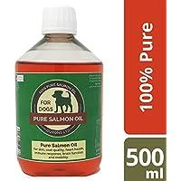 Aceite de salmón para perros. presentación 500 ml
