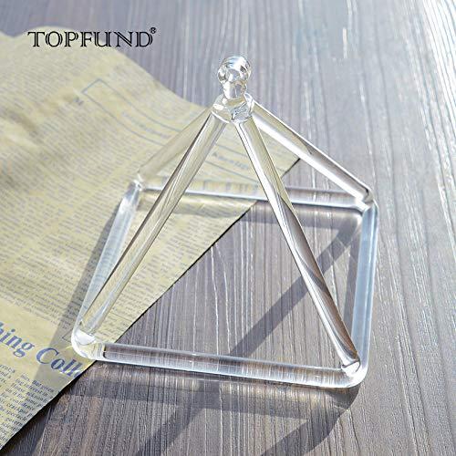TOPFUND - Piramide al quarzo, 15 cm