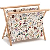 Hobby regalo 'Nociones de costura' tamaño grande cesta de costura (23x 48,5x 35,5cm D/W/H)