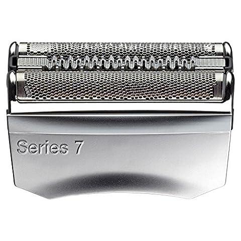 Braun Pièce de Rechange 70S Argentée pour Rasoir Compatible avec les Rasoirs Series 7