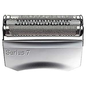 Braun Elektrorasierer Ersatzscherteil 70S, kompatibel mit Series 7 Rasierern, silber
