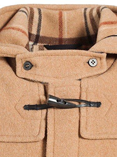 Duffle coat Homme Laine Made in France DALMARD MARINE Londres Beige