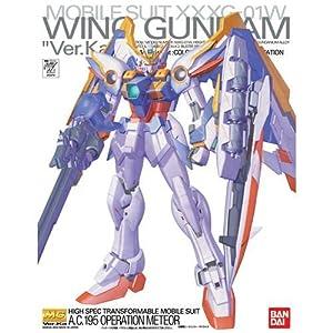 Gundam Bandai Hobby Wing Ver. Ka, Bandai Master Grade Figura de acción