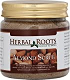 Herbal Roots Almond Face And Body Scrub-...