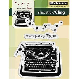 penny black 40 189 selbst gummi stempel my type k che haushalt. Black Bedroom Furniture Sets. Home Design Ideas