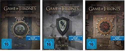 game of thrones steelbook staffel 3 Game of Thrones Staffel 3-5 (3+4+5) / Steelbook Blu-ray Set