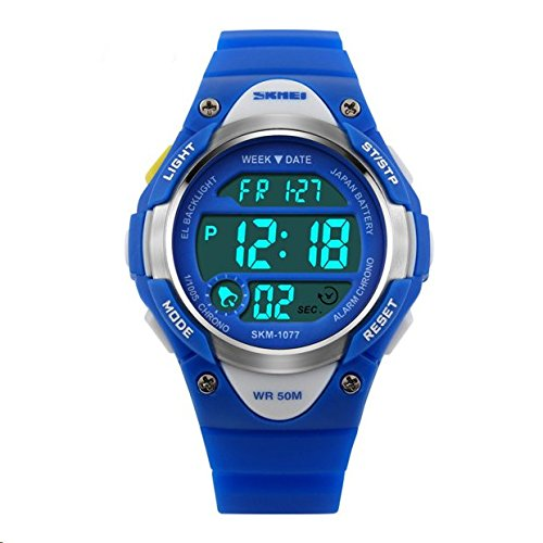 Hiwatch-Kids-Sport-Watch-164-Feet-Waterproof-LED-Digital-Watch-for-Boys-Blue