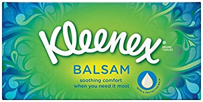 Kleenex Balsam Tissues - White, (2 in a pack) : everything 5 pounds (or less!)