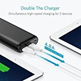 Anker PowerCore 20100 - Ultra High Capacity Power Bank with one of the Most Powerful 4.8A Output, PowerIQ Technology for iPhone 7 /6s /SE, iPad and Samsung Galaxy S8 / S7 and More (Black) Bild 4