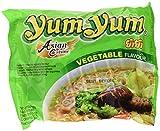 Yum Yum Instant Noodles Vegetable - 5 Paquetes de 10 x 60 gr - Total: 3000 gr