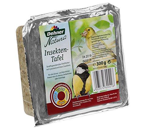 Dehner Natura Wildvogelfutter Tafel-Mix mit Spender - 3