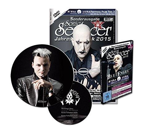 Sonic Seducer Jahresrückblick 2015 + exkl. Picture-Vinyl von Lacrimosa + DVD: M'Era Luna 2015 - Der Film - Teil 2, Bands: ASP (Titel), Blutengel u.v.m.