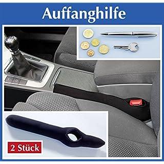 Wenko 2er Set Auto Ritzen Rolle, Mittelkonsole Ritzen Stop, Ritzenfüller, Schmutzschutz Autoschutz,