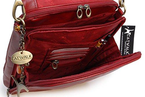 Grande besace de travail signé Catwalk Collection Rouge