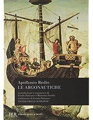 Le argonautiche. Testo greco a fronte