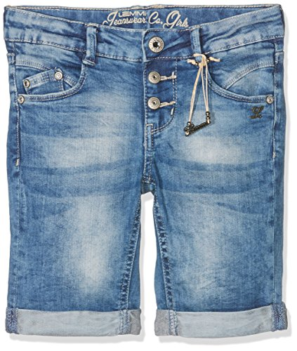 Lemmi Mädchen Bermuda Bermudas Jeans Girls Mid, Blau (Light Blue Denim 0014), 164