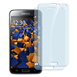 2x mumbi Panzerfolie Samsung Galaxy S5 Mini Glasfolie Hartglas 9H